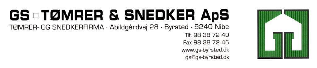 GS TØMRER & SNEDKER ApS